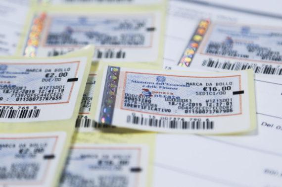 Trasmissione fattura cartacea tramite posta elettronica ordinaria – imposta di bollo