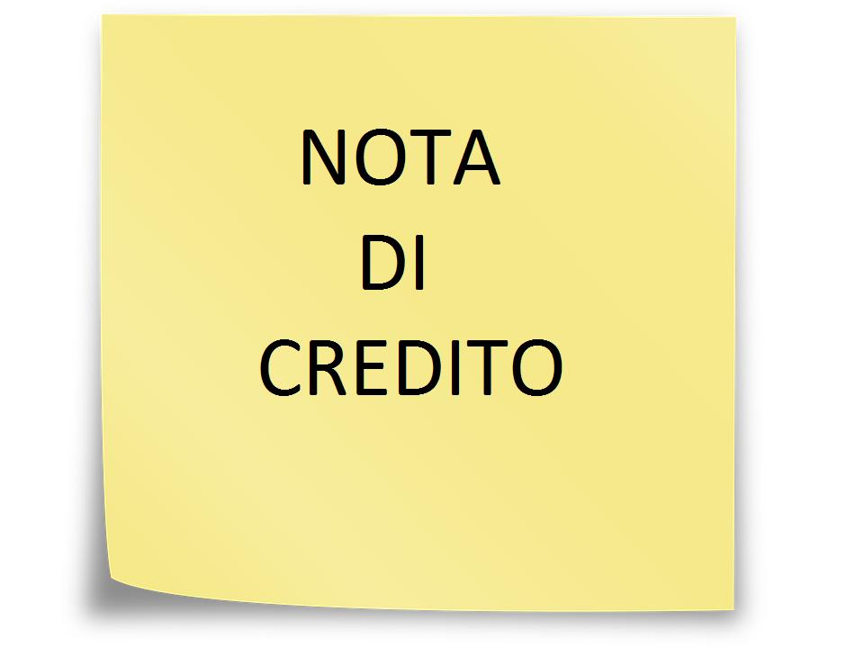 Trattamento fiscale delle note di credito