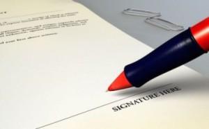 Nullo il contratto se manca la firma della Banca